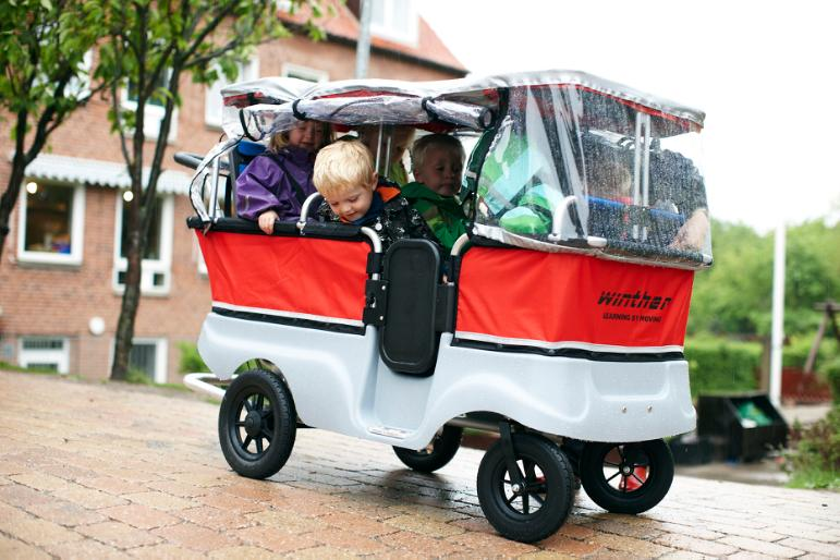 Turtle Kiddy Bus & Stroller